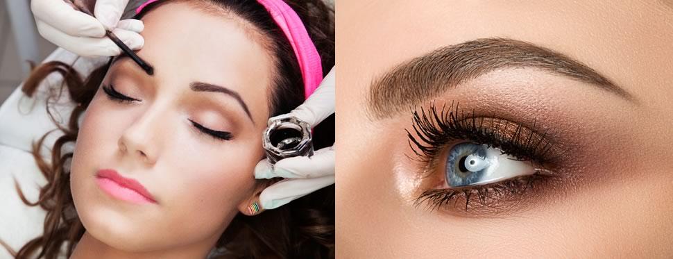 Eyebrow & eyelash tinting in Torquay